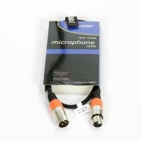 XLR Kabel 1m - Orange Markierung - AC-XMXF/1