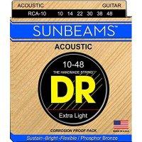 DR Sunbeam Acoustic Guitar Strings 10-48