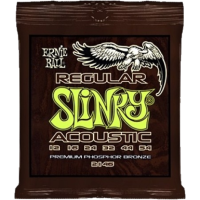 Ernie Ball Acoustic Regular Slinky Phosphor Bronze .012-.054