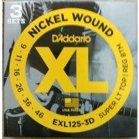 Daddario EXL125-3D