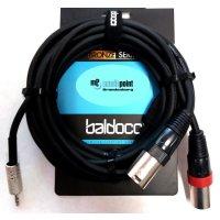 Adapterkabel 3m 2x XLR male auf 3,5mm Klinke Baldocci