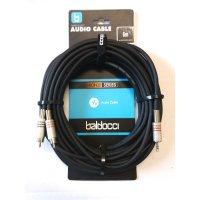 Adapterkabel 2x Cinch auf 3,5mm Klinke (Stereo) - 6m -...