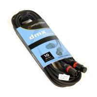 DMX Kabel 3 Pol. - 10m - Accu Cable